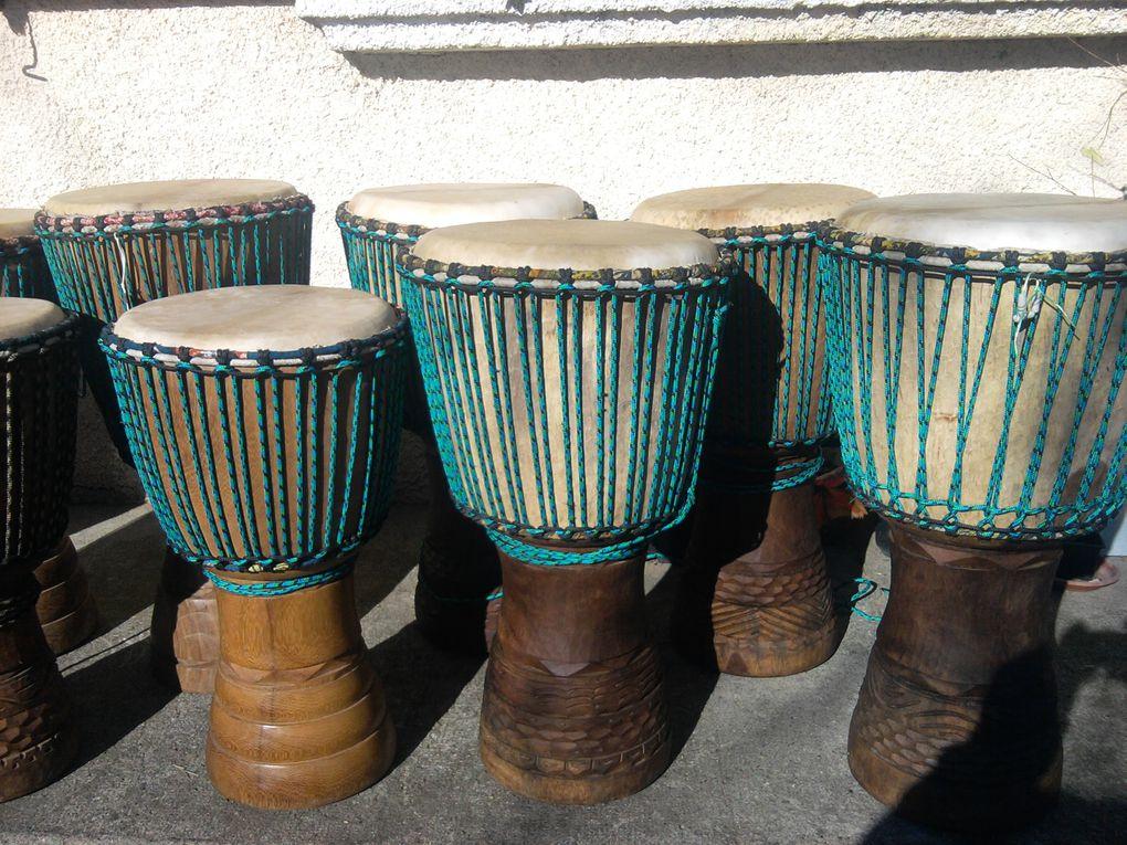 Album - creaciones art'free'ka y montaje djembe y tambor ka
