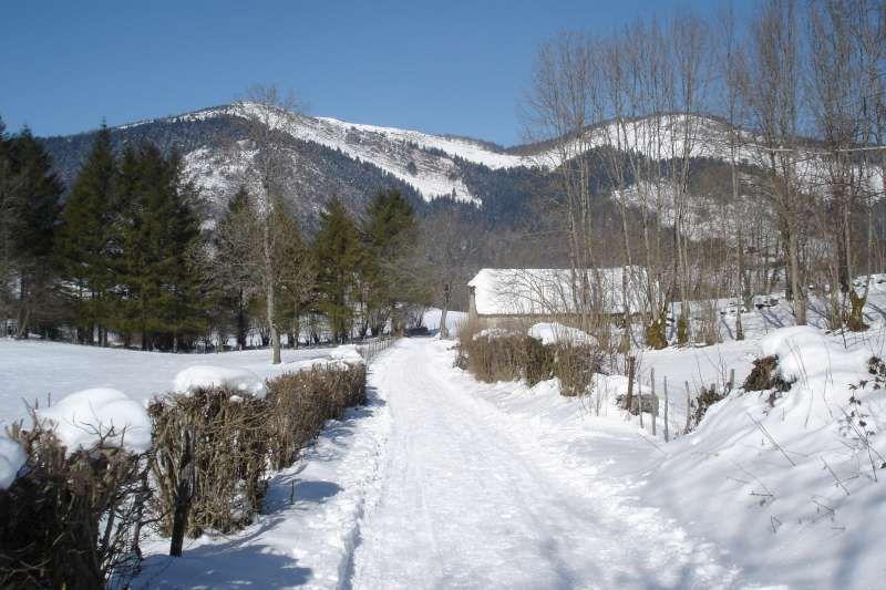 Sortie hivernale au plateau du Bénou. Froid et raquettes vers la cabane de Las Bordes.