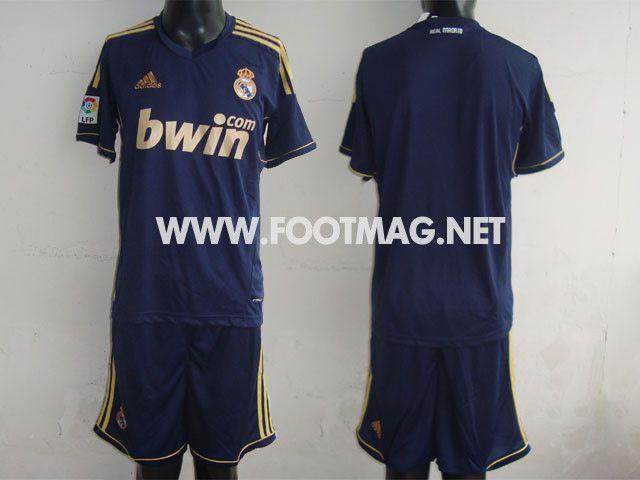 Découvrez les nouveaux maillots 2011 2012 des meilleurs équipes d'Europe !