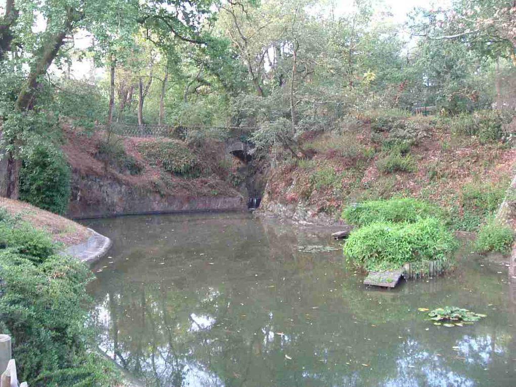 Mon parcours du samedi matin, 7,720 Km, une petite heure de footing le long de l'étang St-Nicolas.