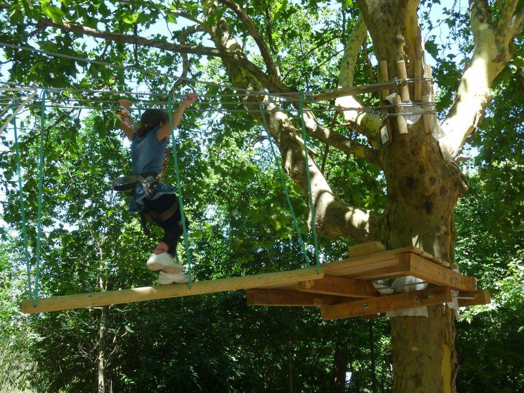 """Le 17 juillet 2012 une journée au parc Paul Mistral """"L'été Oh ! parc"""" pour profiter des activités de loisirs."""
