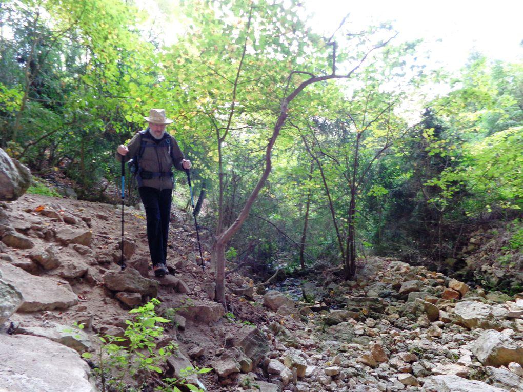 De St Jean en Royans à la grotte de Frochet et à Jourdan le 31 octobre 2013