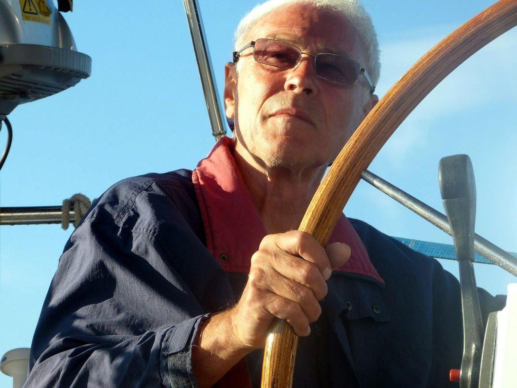Préparation du bateau à Martigues, puis Martigues à Paxos, du 4 au 22 juin, avec Guy et Gérard