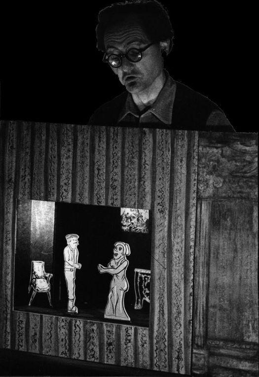 quelques images de théâtres de papier, ou de gravures