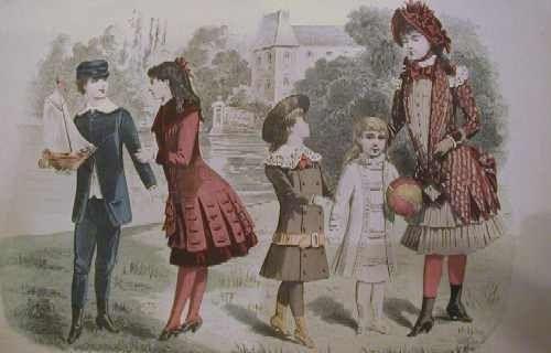 Album - Les vêtements du XIXe siècle