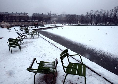 Album - Paris sous la neige