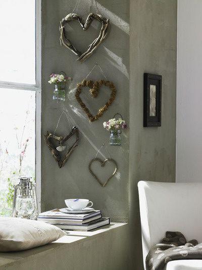 Des idées de décoration, de celles qui vous mettent du baume au coeur, qui ravissent l'esprit tout simplement...