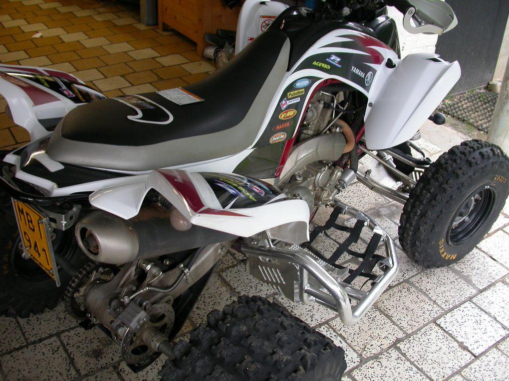 Le Quad Yamaha Raptor 700 de Pierre Courtois.