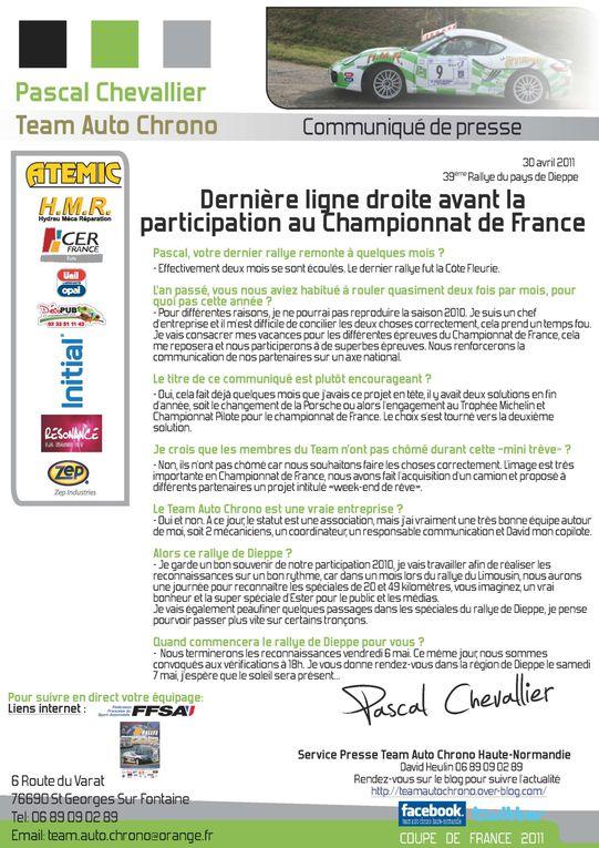 Album - Rallye de Dieppe 2011
