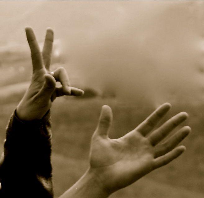 Album - tes mains m'ont dit