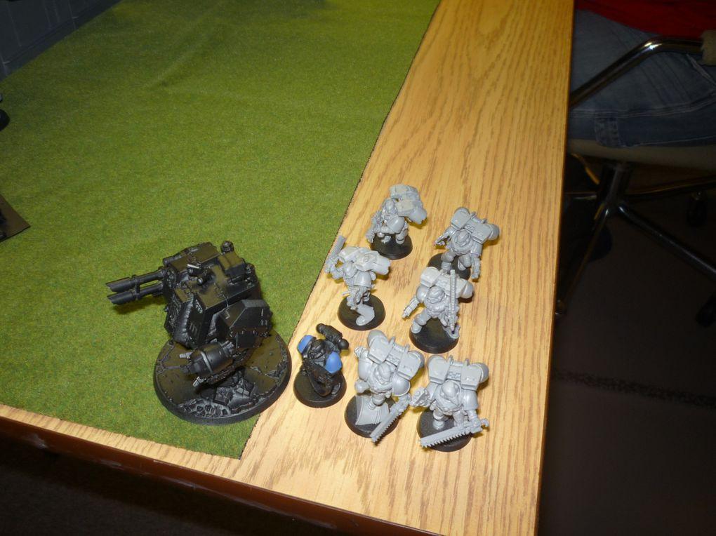 Seconde bataille contre les Ultramarines de Duster.