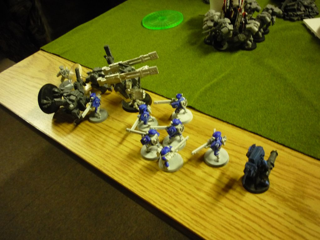 Marines vs Tau