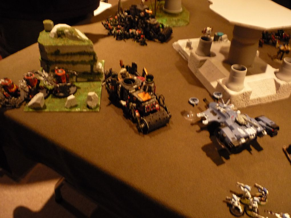 Match 2000 pts aout 2010 Tau vs Orks