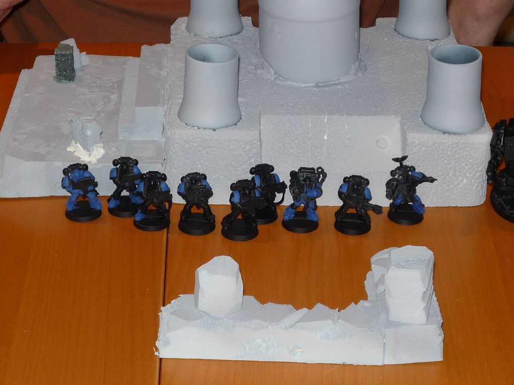 1st game vs Duster's Marines