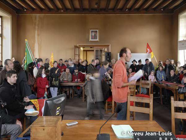 Manifestations des 2, 12, 16, 19 octobre et du 6 novembre 2010 à Parthenay (Deux-Sèvres)