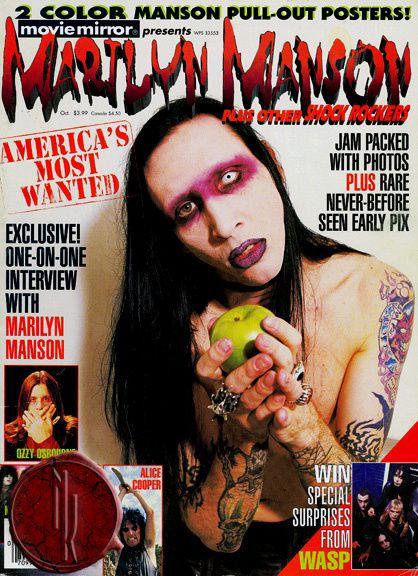 Johnny Depp se unió con el polémico Marilyn Manson para hacer un tema que formará para del nuevo disco delrockero, titulado Born Villain.