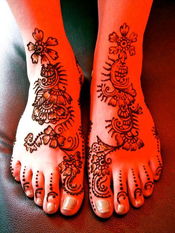 mehendiarabic indian design