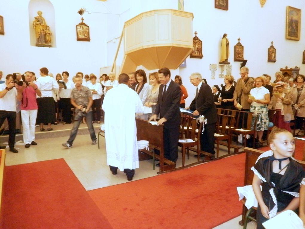 dimanche 18 septembre 2011, en l'église de St Antoine Ginestière