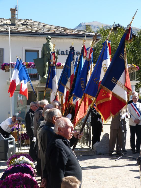 Retour sur les commémorations du 70e anniversaire de l'incendie de Bessans du 13 septembre 1944.Photos : N.Tracq, S.Suiffet