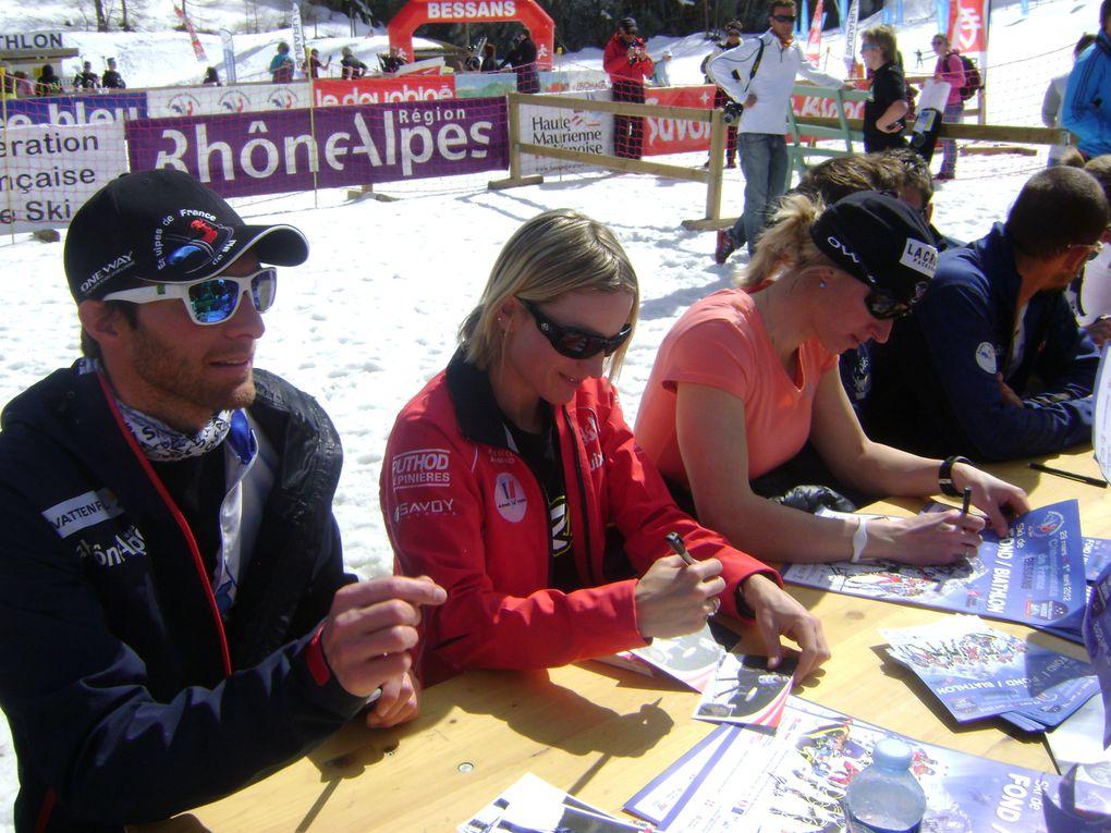 La Haute-Maurienne a accueilli du 29 mars au 1er avril les Championnats de France de ski de fond et biathlon.Les meilleurs athlètes français étaient présents et ont offert au public un superbe spectacle.Retour en images sur cet événement...