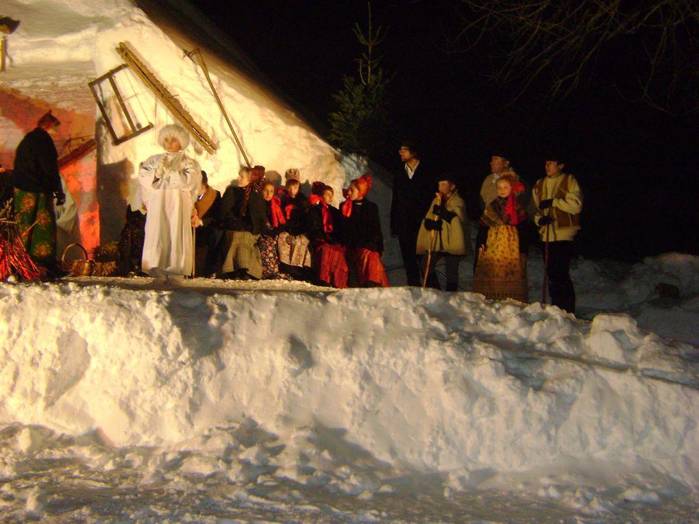 Plus de 250 personnes ont assisté à la crèche vivante de Noël organisée comme chaque années à Bessans.Photos : J.Tracq