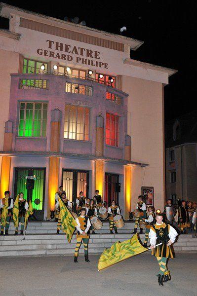 La traditionnelle Fête de la Saint-Jean placée cette année sous le signe de l'Italie.Photos : P.Dompnier