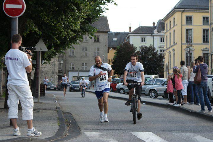 31 équipes ont participé au challenge Run & Bike proposé aux entreprises locales à l'occasion de la Fête nationale du Vélo.Photos : P.Dompnier, J.Tracq