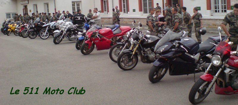 Premier rassemblement des motards du 511°RT, pour un Barbecue et l'annonce de la création du club moto. C'est de là que tout est partit !