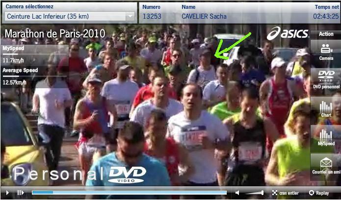 Des photos d'un des plus grands marathons de la planète. Mon meilleur temps 2010 sur marathon : 3h21'
