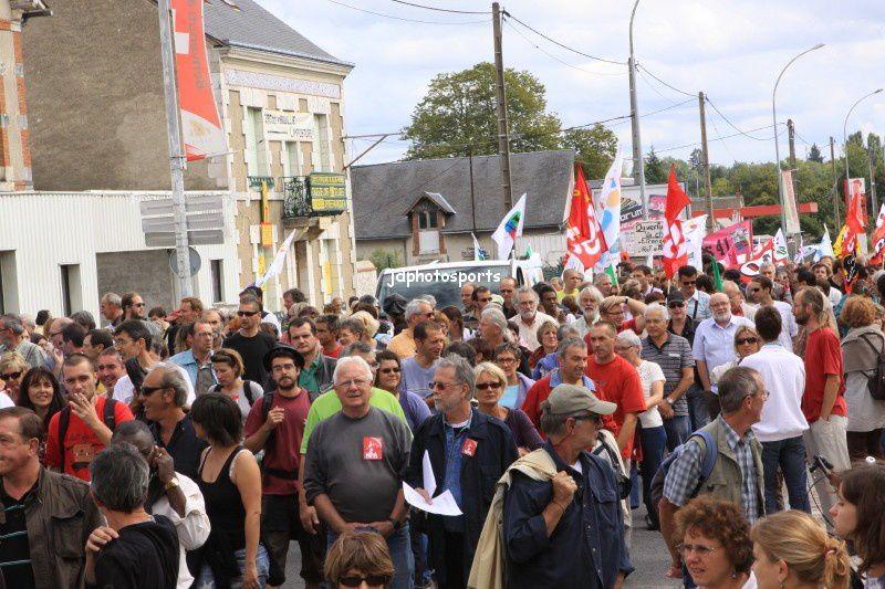 Blois, contre la réforme des retraites 07.09.2010