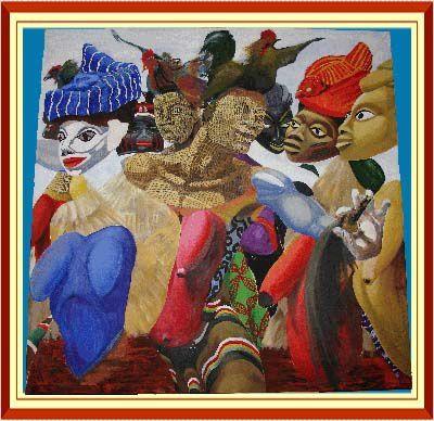 L'ensemble des oeuvres de cet album: Expo_SINZOGAN font l'objet de de la protection des droits d'auteurs et copyright.Leur reproduction est formellement interdite par l'ayant droit