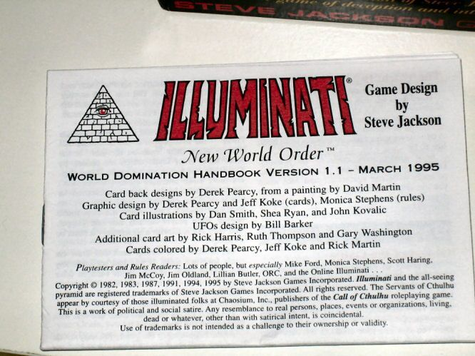 Album - Cartas Illuminati 1