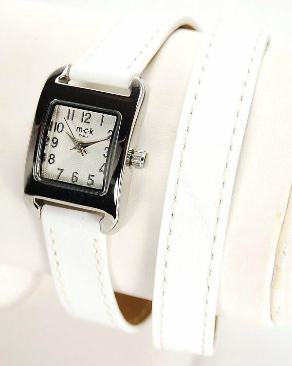 Des montre double bracelet en cuir à 59€ maximum garanties 2 ans... un rêve réalisé par MCK Paris sur le site de Montres fansitasie en ligne Unemontretendance.com