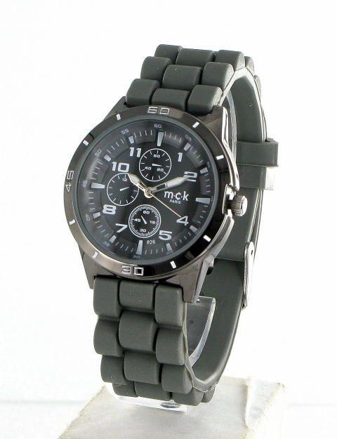 Des montres gommes étanches ou non entre 25€ et 45€ garantie 2 ans et signées MCK Paris (Maclock Paris) pour la boutique en ligne Zaoline
