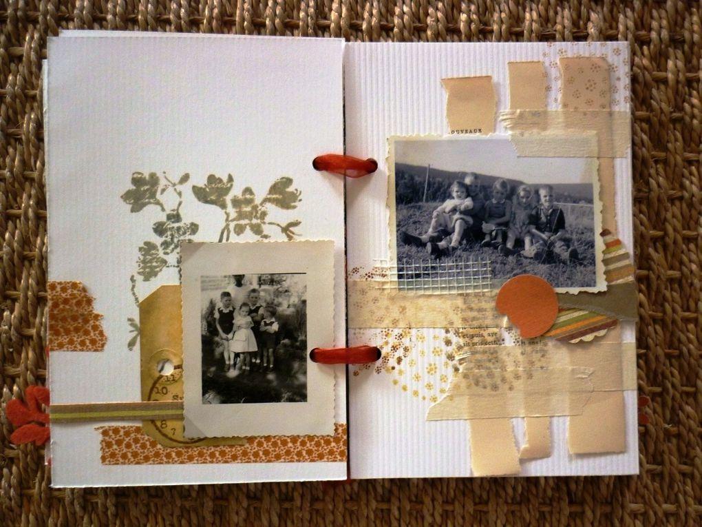 album réalisé pour l'anniversaire d'un de mes oncles, avec des photos de l'époque