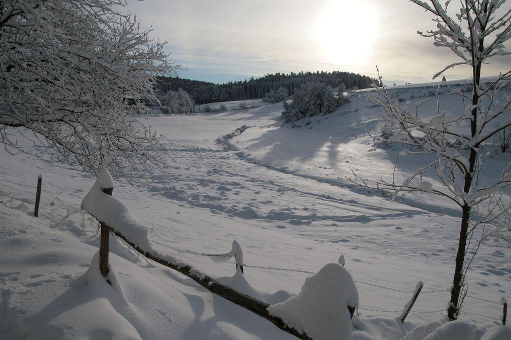 quelques photos de Jean Louis, St Romain sous la neige