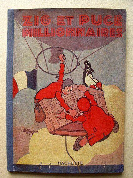 BD éditée en 1931 dessins de Saint Ogan