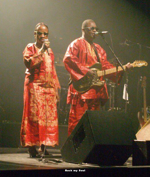Amadou & Mariam, concert 13 février 2009, Hangar 23 RouenFaso Ouattara, 6 juin 2009, Hangar 23, Rouen
