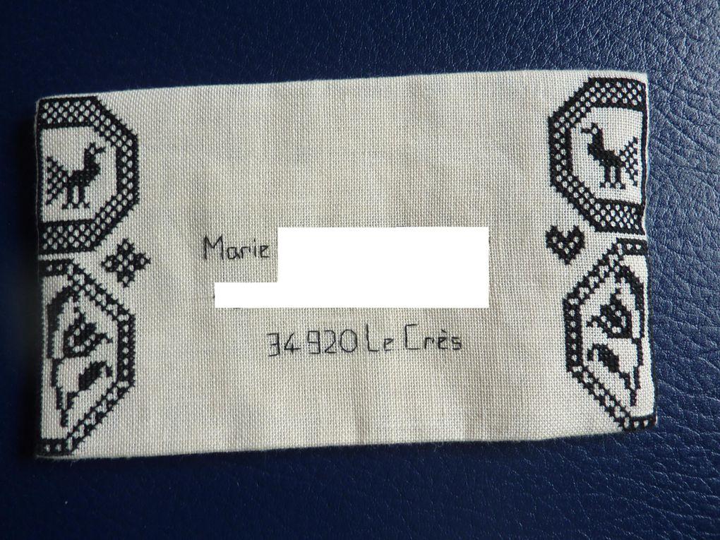 Enveloppes envoyées et reçues lors de différents échanges