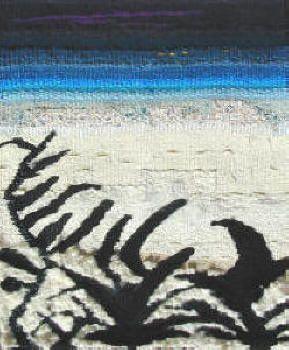 Martine de Wavrechin Tissot, licière, créatrice de tapisseries en haute et basse lice.St Sauveur du Larzac, 12230 Nant / 05 65 62 29 93 / titine@mw-tapisserie.fr
