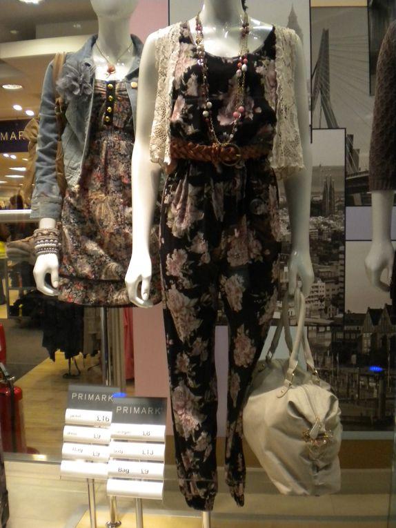 Les vêtements, les visuels et les vitrines de Primark !