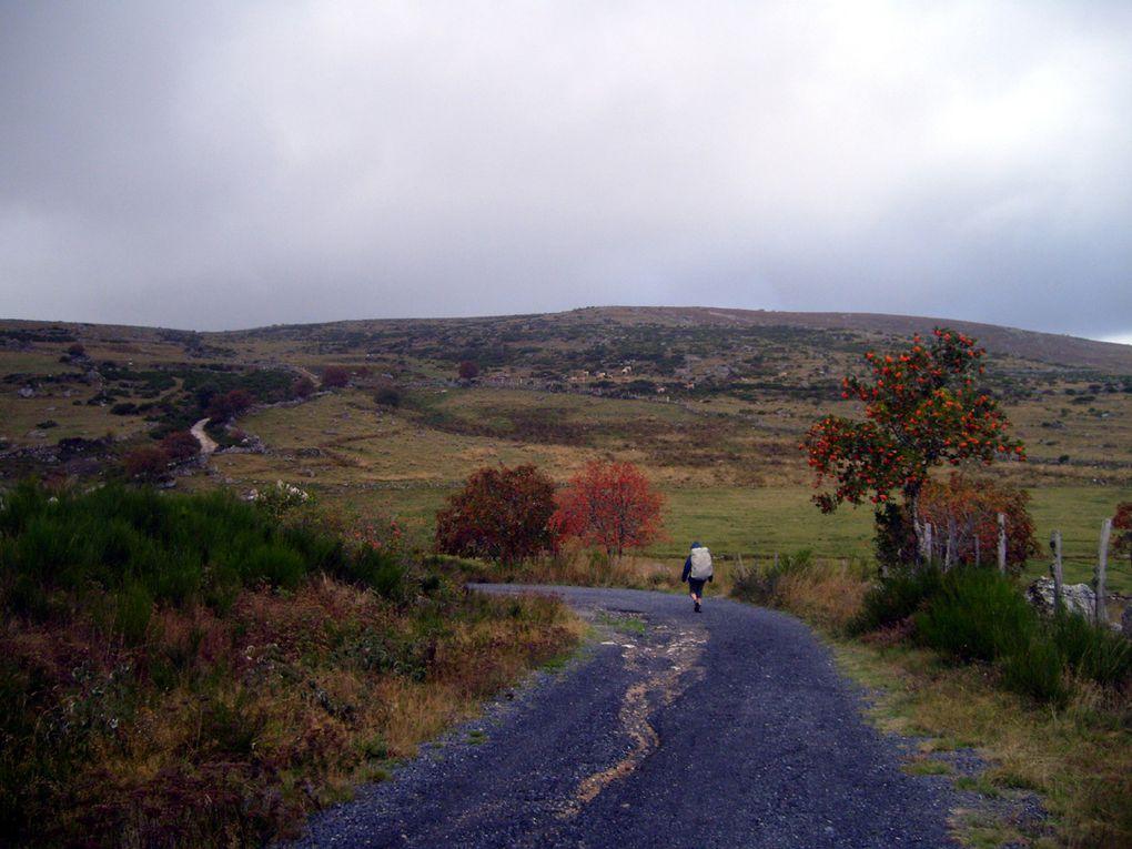 Chemin de Compostelle en septembre 2009