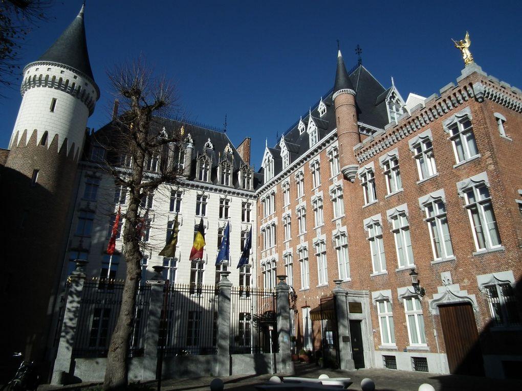 4 novembre 2011. La First Lady Of Madagascar en bus pour l'hôtel Kempiski de Bruges. Elle y apprendra comment fabriquer l'Atomium de Bruxelles en chocolat.