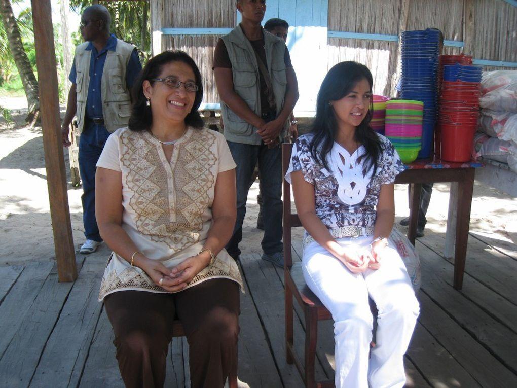 En tant que Première Dame de l'Etat et Présidente de l'Association FITIA, Mialy Rajoelina a officiellement célébré la Journée internationale de la Femme à Maroantsetra, dans le Nord de l'île de Madagascar.
