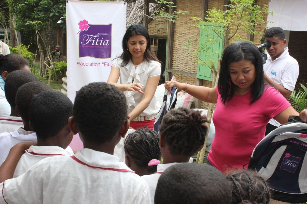 Antalaha. Descente à l'Akany EZAKA, de Mialy Rajoelina, Présidente de l'association Fitia. Les photos parlent d'elles-mêmes. Seconde Partie.