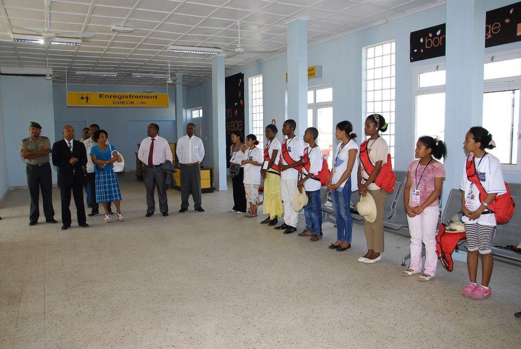 3 octobre 2010. Retour de vacances à Toliara des lauréats du BEPC malgache 2010