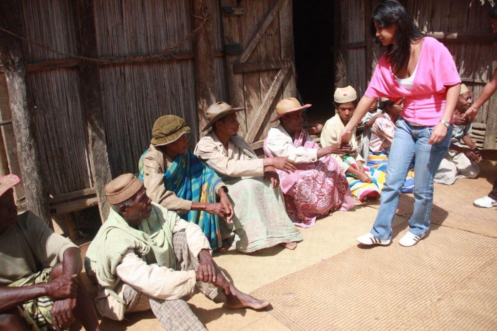 Descente dans les régions du Sud-Est de Madagascar, en mai-juin 2010. Régions annuellement dévastées par les cyclones.