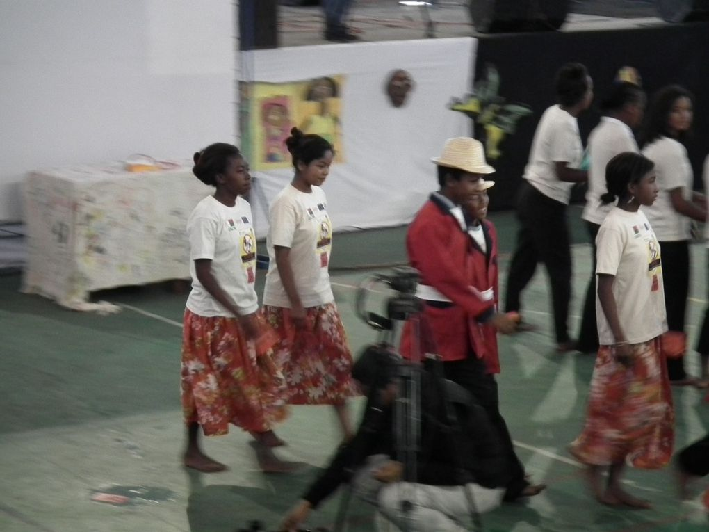 Journée mondiale contre le travail des enfants. Célébrée en présence de la Première Dame de l'Etat, Mialy Rajoelina. Seconde partie.
