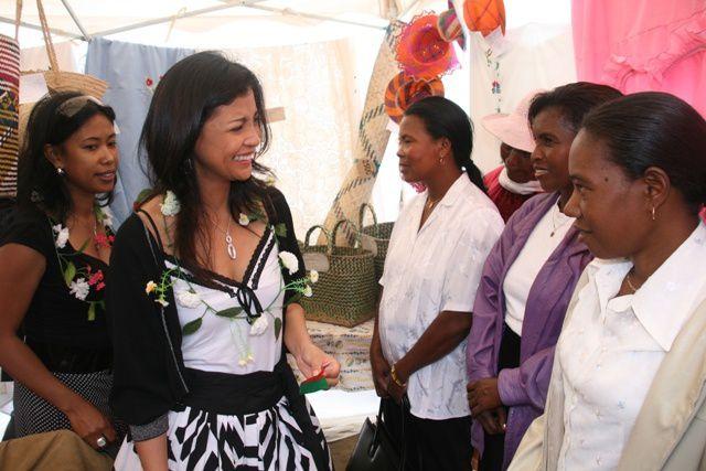 Descente sur terrain dans le cadre de la Journée Internationale contre les violences faites aux femmes (25 novembre 2009).