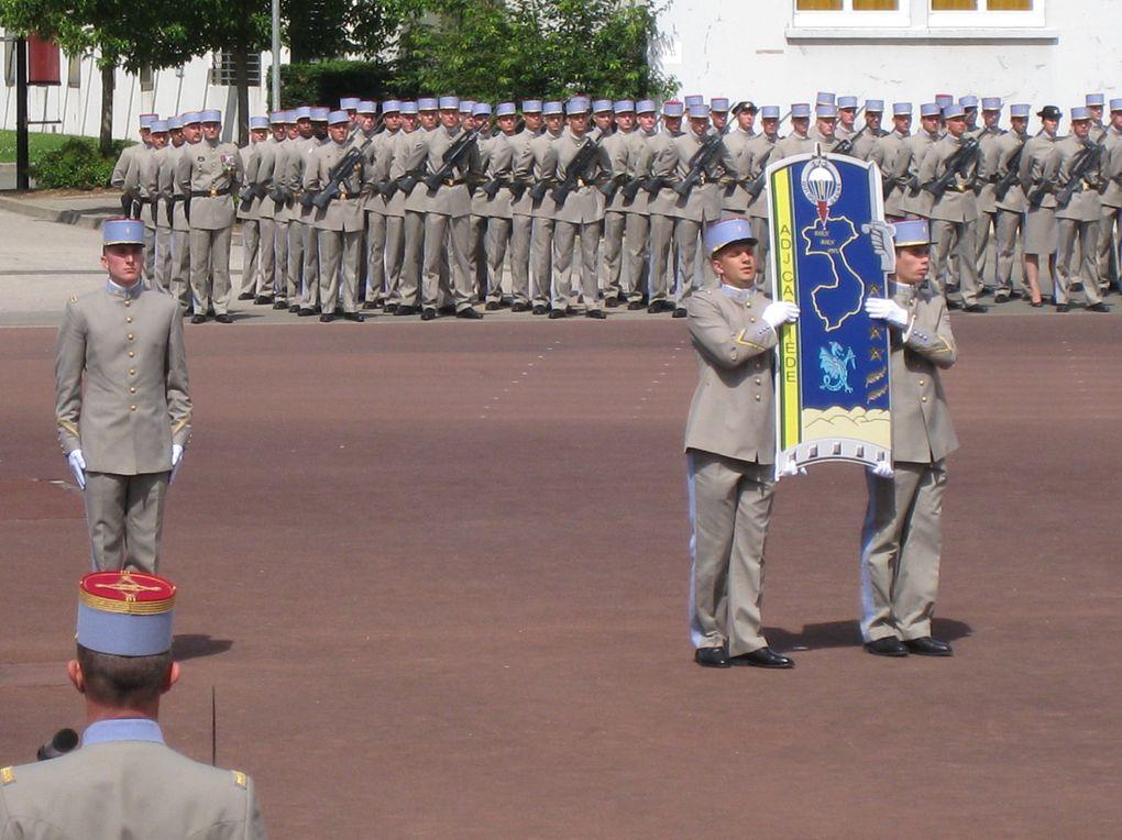Baptême de la 260ème promotion au 1er Bataillon '' Adj CASSIEDE ''...
